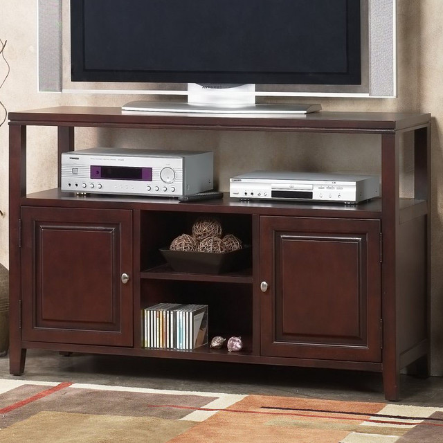 Anderson Server / Flat Panel TV Console contemporary-media-storage