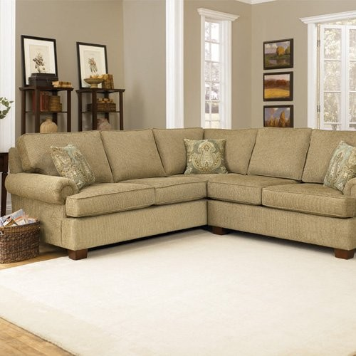 Charles Schneider Faris Suede Sectional with Jordan Hemp Pillows traditional-sectional-sofas