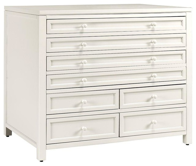 Martha Stewart Living File & Storage Cabinets Craft Space Eight-Drawer - Contemporary - Filing ...