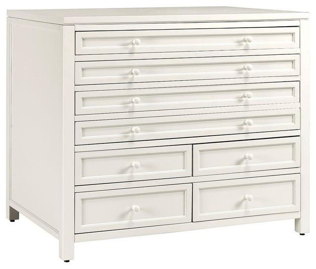 Martha Stewart Living File & Storage Cabinets Craft Space Eight-Drawer ...