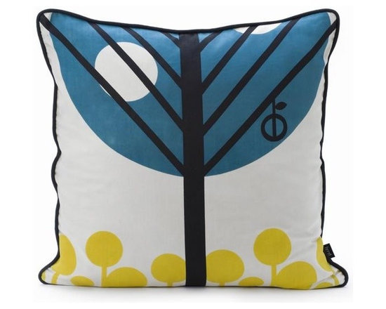Ferm Living Apple Pillow - With Ferm Living Pillows it is easy to create a new look and change the style in a room in a matter of minutes.