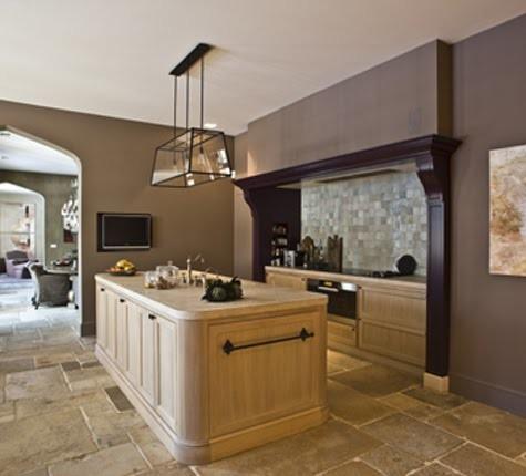Kitchen Stone Tiles (Mediterranean Style) mediterranean-tile