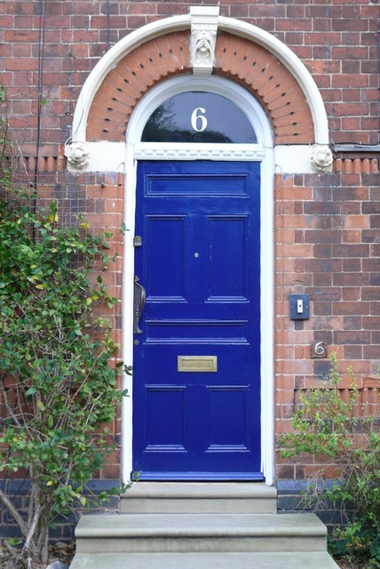 gold house numbers - traditional - house numbers - other metro