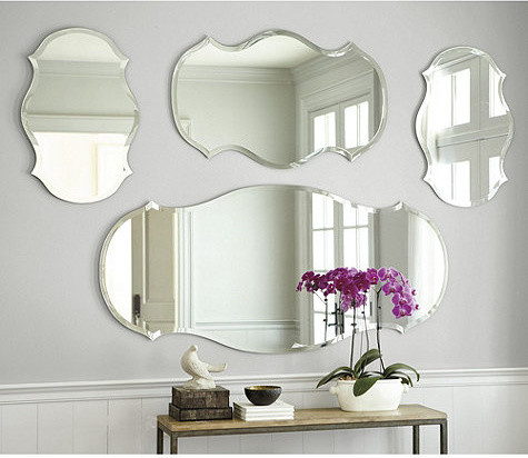 Audrey Mirror traditional-mirrors