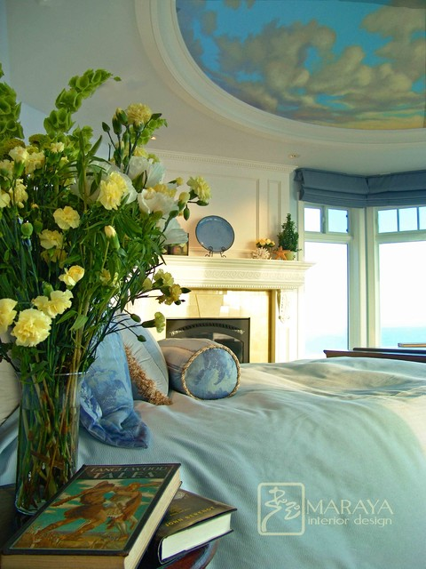 Cape Cod Master Bedroom traditional bedroom