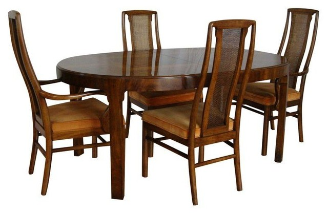 drexel heritage dining set table 4 chairs traditional dining sets