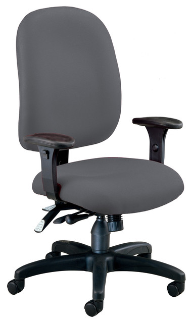 OFM Gray Fabric Comfy Seat Ergonomic Executive / Computer Task ...
