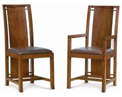 Boyton Arm Chair by Frank Lloyd Wright asian dining chairs and benches