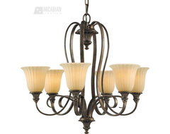 Murray Feiss MRF-F2280-6BRB Somerset Traditional Chandelier traditional-chandeliers