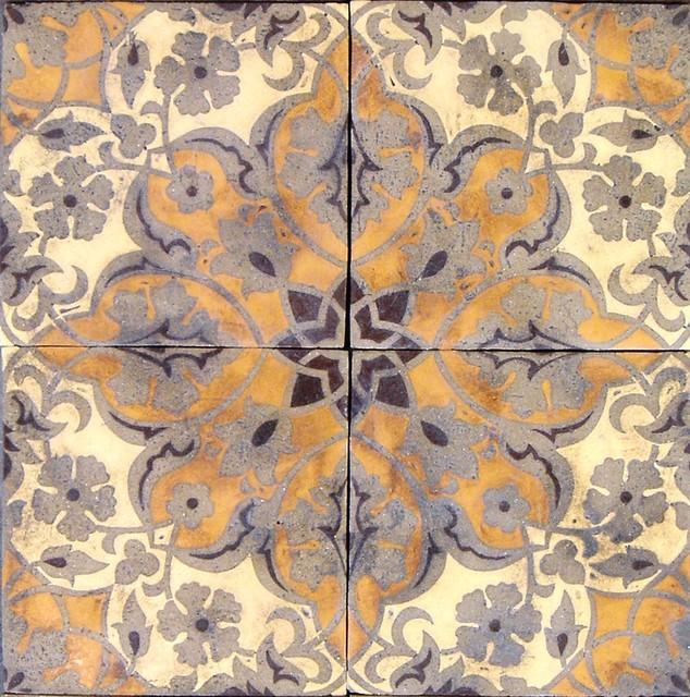 Patterson Encaustic ~ Filmore Clark tile