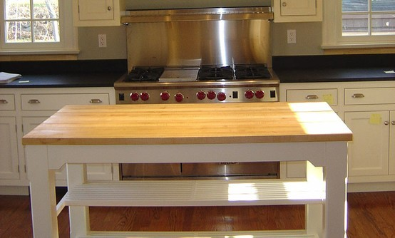 Kitchen Island With Countertop : Maple Kitchen island Countertop.jpg - Kitchen Countertops - by The ...