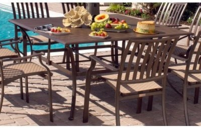 The near-perfect combination of form and function makes the Panama Jack Island B modern-dining-tables