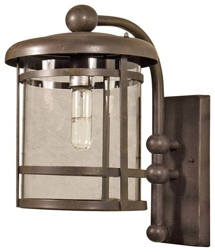 Heavenly 1 Light Outdoor Wall Lantern modern-lighting