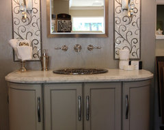 Bathroom Display traditional-
