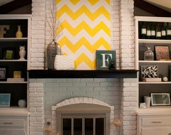 Pinterest / Search results for brick fireplace