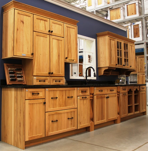 Fresh New Idea's - Traditional - Kitchen Cabinetry - portland - by Lowe's Portland Maine
