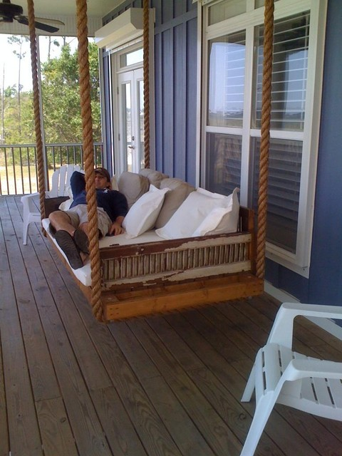 made from antique shutters - Traditional - Patio Furniture And Outdoor ...