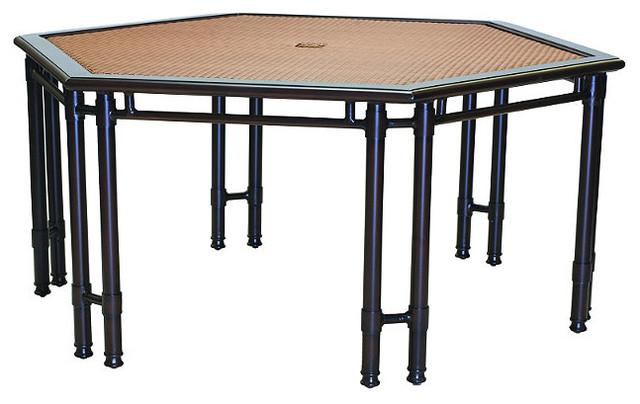 Viento Hexagonal Outdoor Dining Table Patio Furniture
