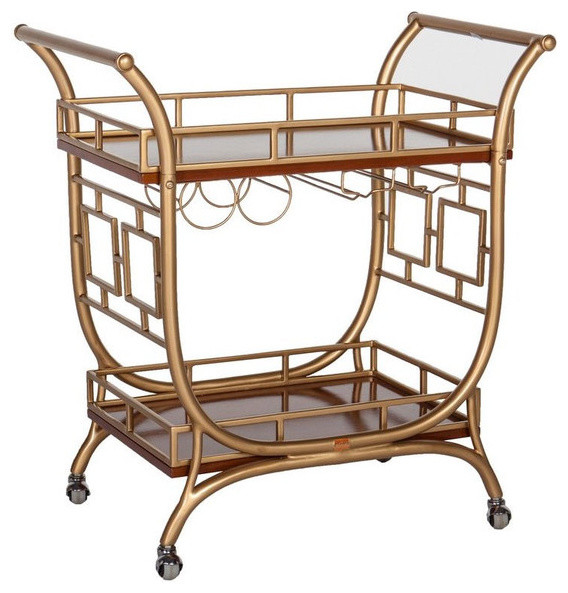 the devlin bar cart traditional bar carts by society social. Black Bedroom Furniture Sets. Home Design Ideas