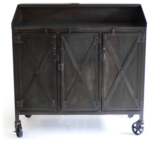 Chop House Industrial Indoor Pub And Bistro Tables Denver By Real Industrial Edge Furniture