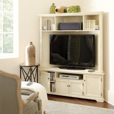 Reston Corner Media - Traditional - Entertainment Centers ...