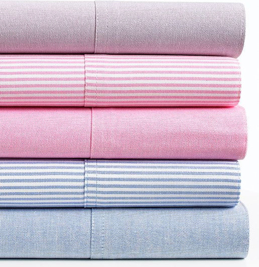 Lauren Ralph Lauren Bedding University Oxford Sheet Set