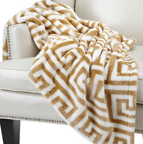 Mykonos Throw, Gold