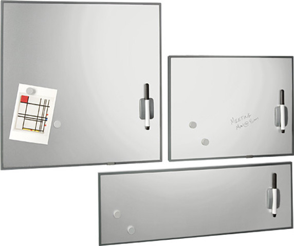 Stainless Steel Magnetic Dry Erase Boards modern bulletin board