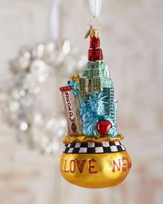 Big Apple Ornament