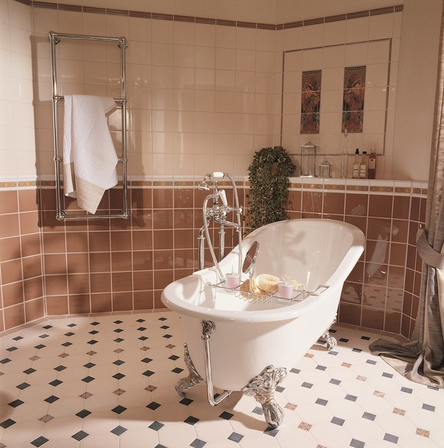 Perfect And Its Glamorous LateXIX Centuryinspired Bathroom Victorian Tile Ideas The Capitonne Collection Features That Signature Diamond Design With Buttoning  A Detail Thats Classic For Furniture, But Fresh And Contemporary As A Wall