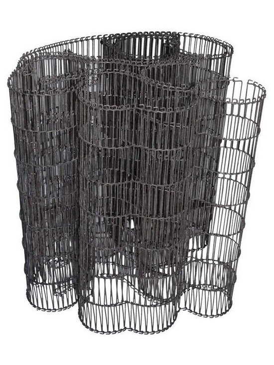 Steel Wire Mat Sculpture - $990 Est. Retail - $495 on Chairish.com -