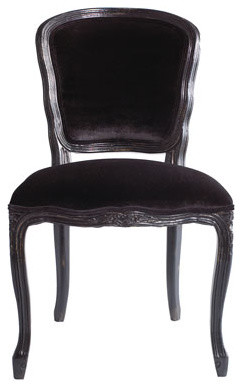 """Two """"Empress"""" Side Chairs traditional-dining-chairs"""