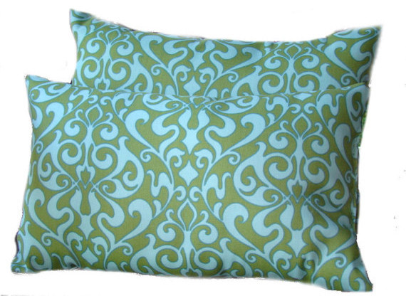 Indoor-Outdoor Pillows, Light Blue, By must love home decor contemporary-outdoor-cushions-and-pillows
