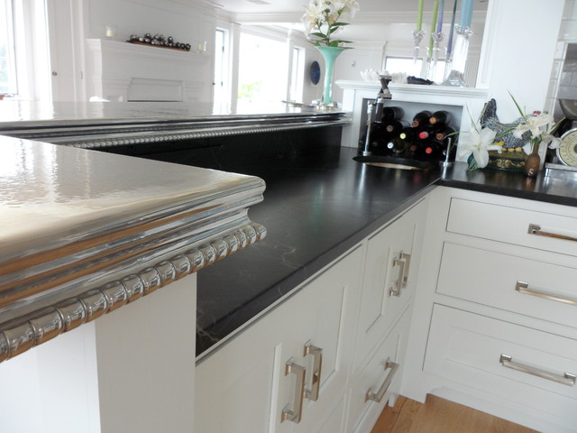 Cambridge Pewter Counter Top - Traditional - Kitchen ...
