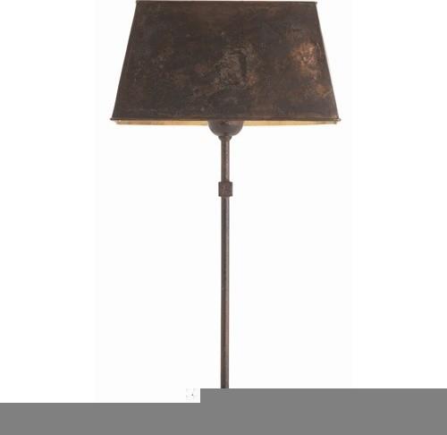 Arteriors Stewart Rust Iron Accent Lamp contemporary-lamp-shades