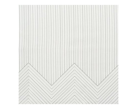 Serena & Lily - Halden Pillowcases - Not your average stripe, Halden's lines have a lovely hand-drawn quality. Like a tailored men's shirt, the chevron print along the top cuff softens the look and adds a nice pop of contrast when folded down just the kind of design surprise we love.