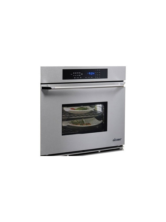 """Dacor Classic Epicure 27"""" Single Wall Oven Stainless W/ Chrome Trim 