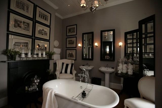Masculine bathroom for Manly bathroom designs