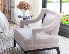 The Kim Chair transitional-living-room-chairs