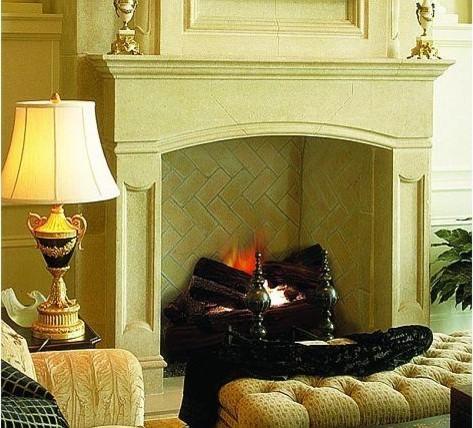 The Toulouse Mantel- Francois & Co. fireplaces