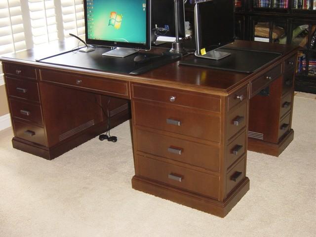 Luxury Home Office Partners Desk  Yelp