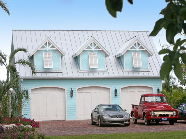 Bait Shack tropical-garage-and-shed