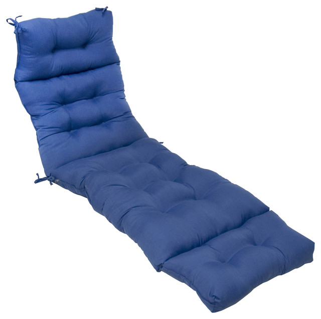 Blue And White Striped Chaise Lounge Cushions Of 72 Inch Outdoor Marine Blue Chaise Lounger Cushion