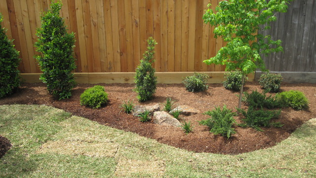 Back Yard Park for a Young Boy - houston - by Ravenscourt Landscaping ...