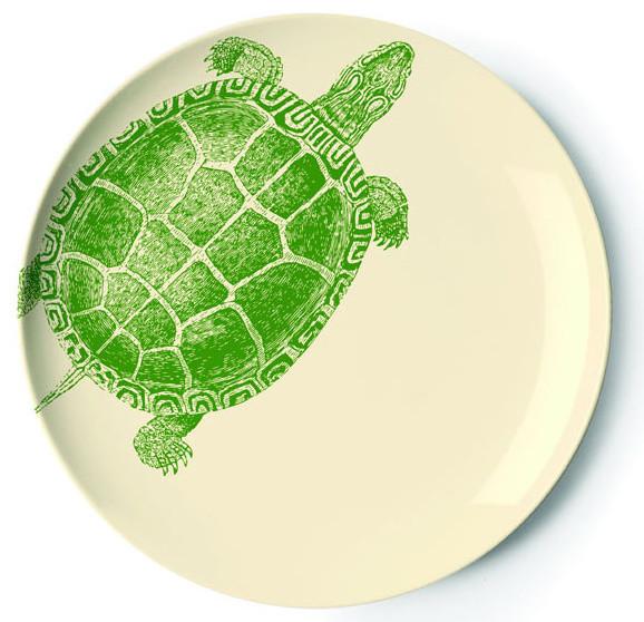 Thomaspaul - Sea Life Dessert Plate Set modern-dinner-plates
