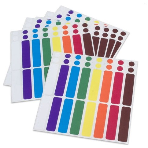 Color-Coded Cord Labels - Contemporary - Home Office Accessories - by Organize