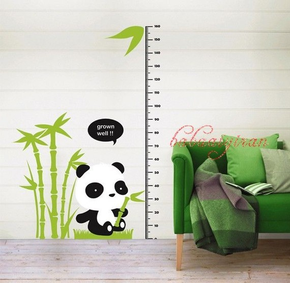 Panda Children Sticker By Babaaiyiran contemporary-wall-decals