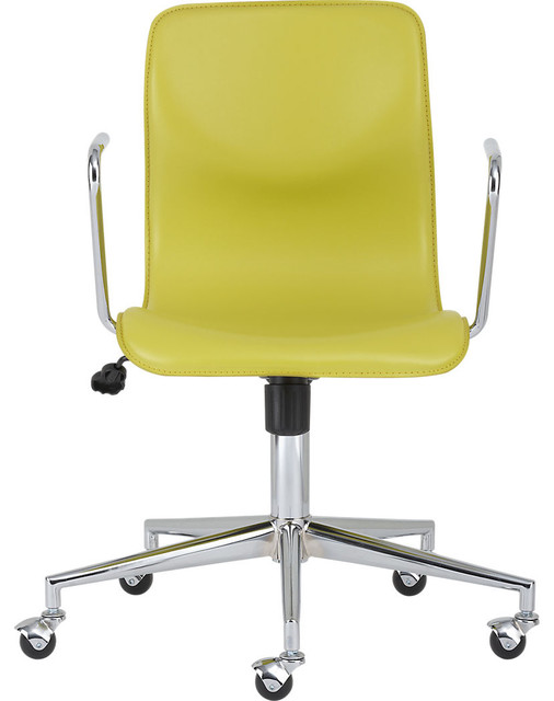 Bubble Leather Office Chair modern-task-chairs