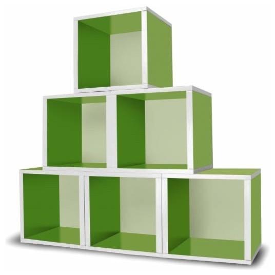 Bathroom design basics - Way Basics Storage Cube Green Storage And Organization