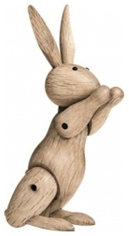 Wooden Rabbit contemporary artwork